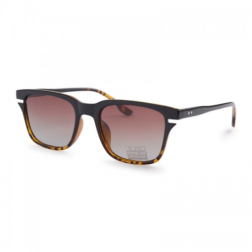 Tort Square Sunglasses -