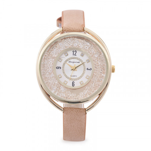 Gold Sparkle Watch -