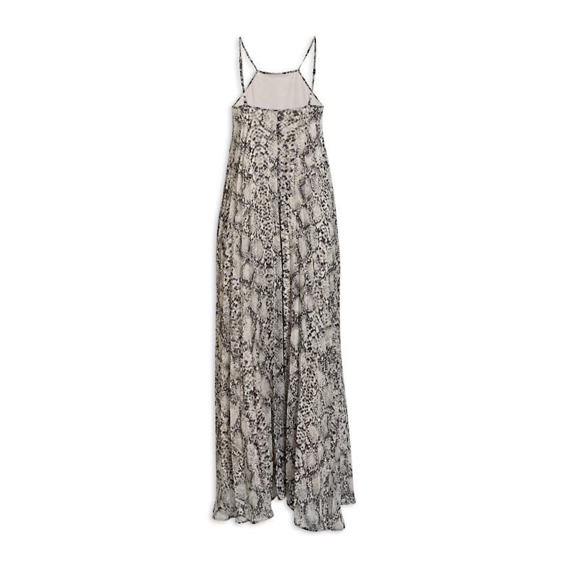 Snake Pleated Dress -