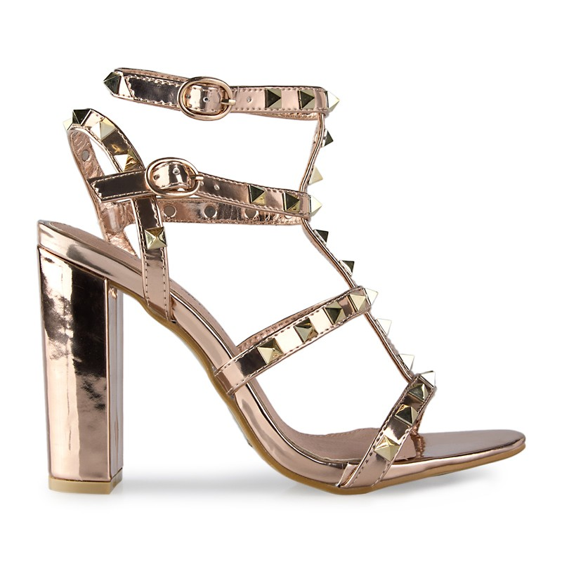 Rose Gold Sandal -