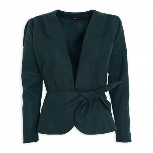 Emerald Melton Jacket -