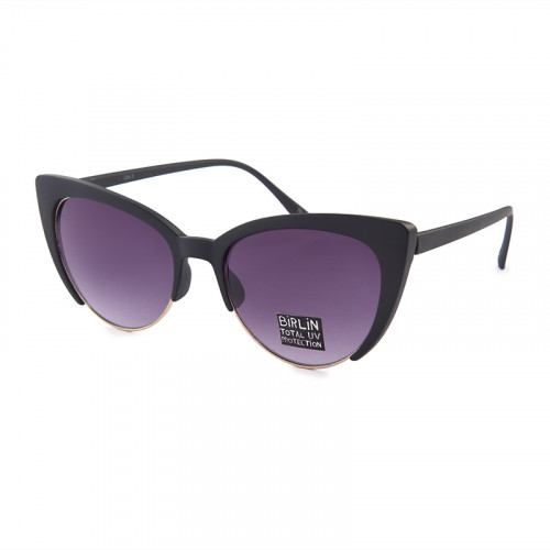 Black Cateye Sunglasses -