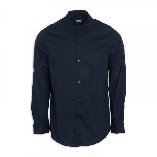 Navy Long Sleeve Shirt -