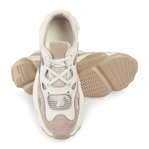 Leather Chunky Sneaker -
