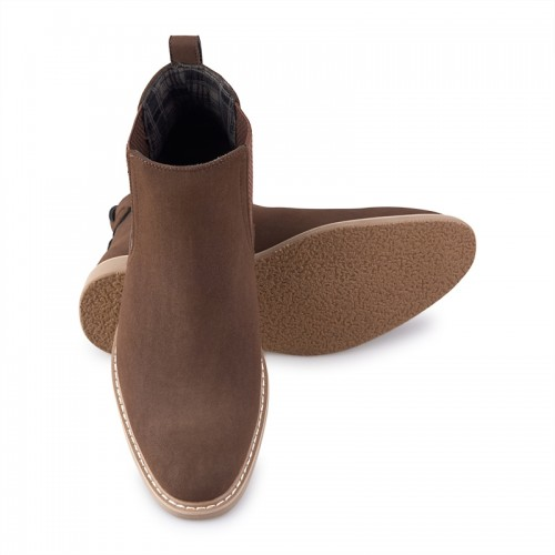 Brown Casual Boots -
