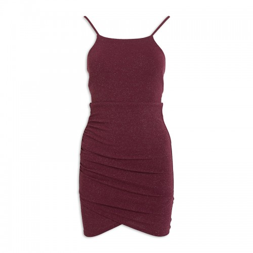 Shimmer Bodycon Dress -
