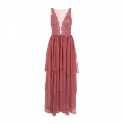 Rose Tiered Dress -