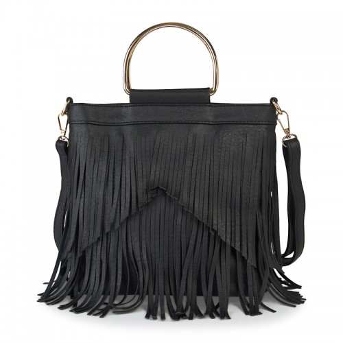 Black Tassel Hobo -