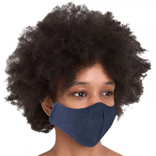 Denim face Mask -