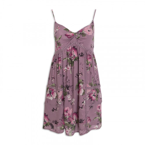 Floral Cami Swing Dress -
