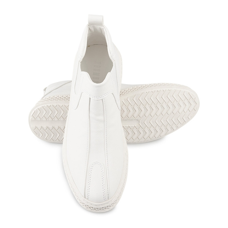 White Bootie Sneaker -