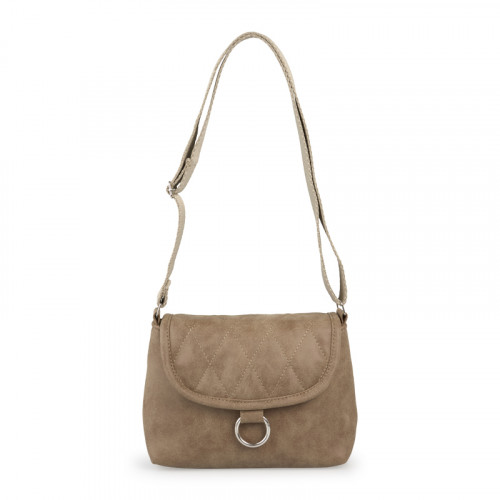 Tan Quilted Bag -