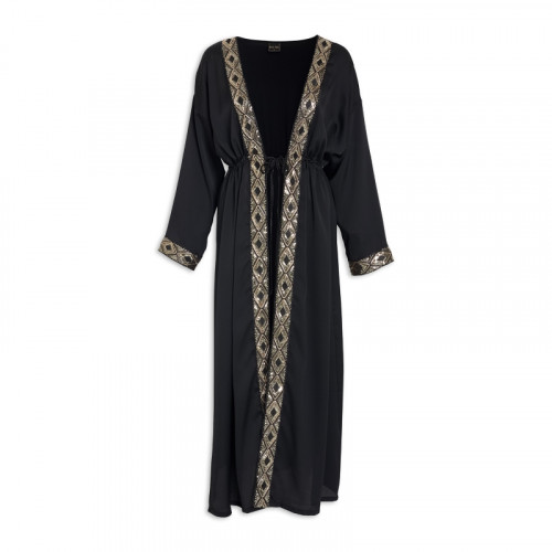 Black/Gold Kaftan -
