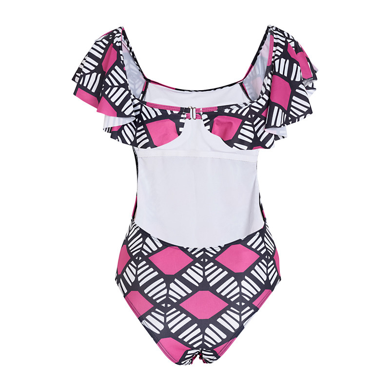 Pink Cape Swimsuit -