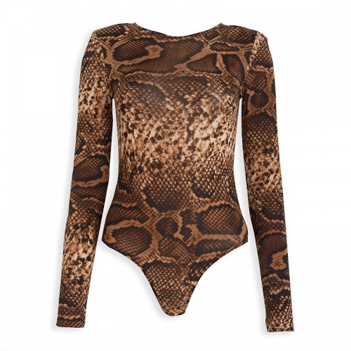 Animal 80's Bodysuit -