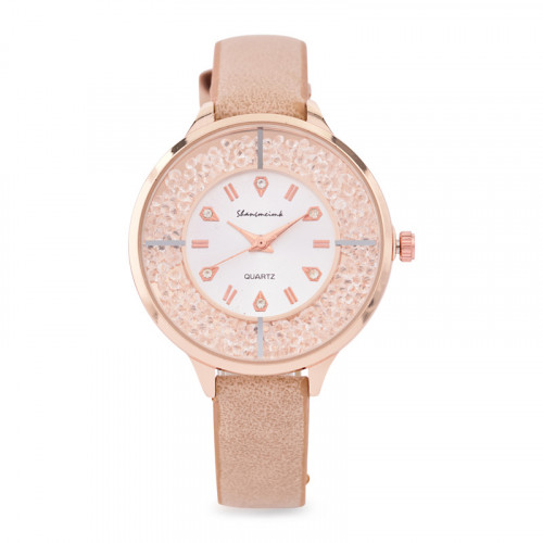 Rosegold Sparkles Watch -