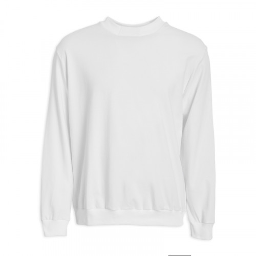 White Rib Sweat top -