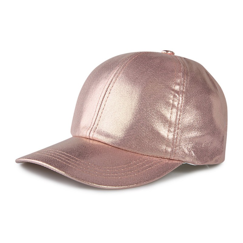 Rose Gold Metallic Cap -