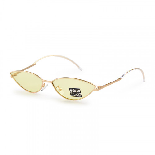 Yellow Fashion Sunglasses -