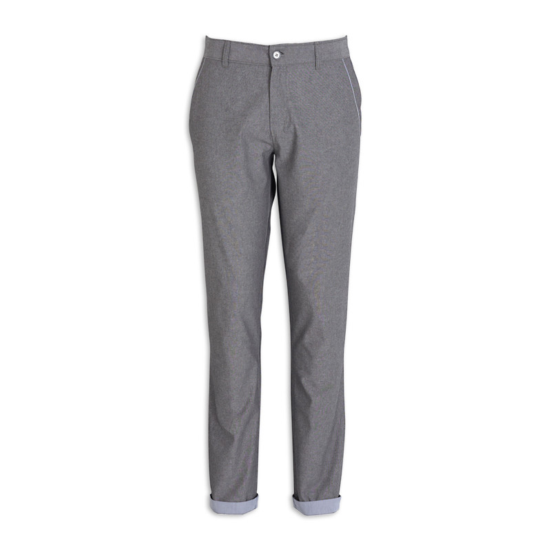 Grey Contrast Trouser -