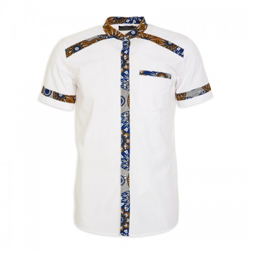 WhiteTribal Shirt -