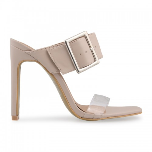 Nude Broad Band Sandal -