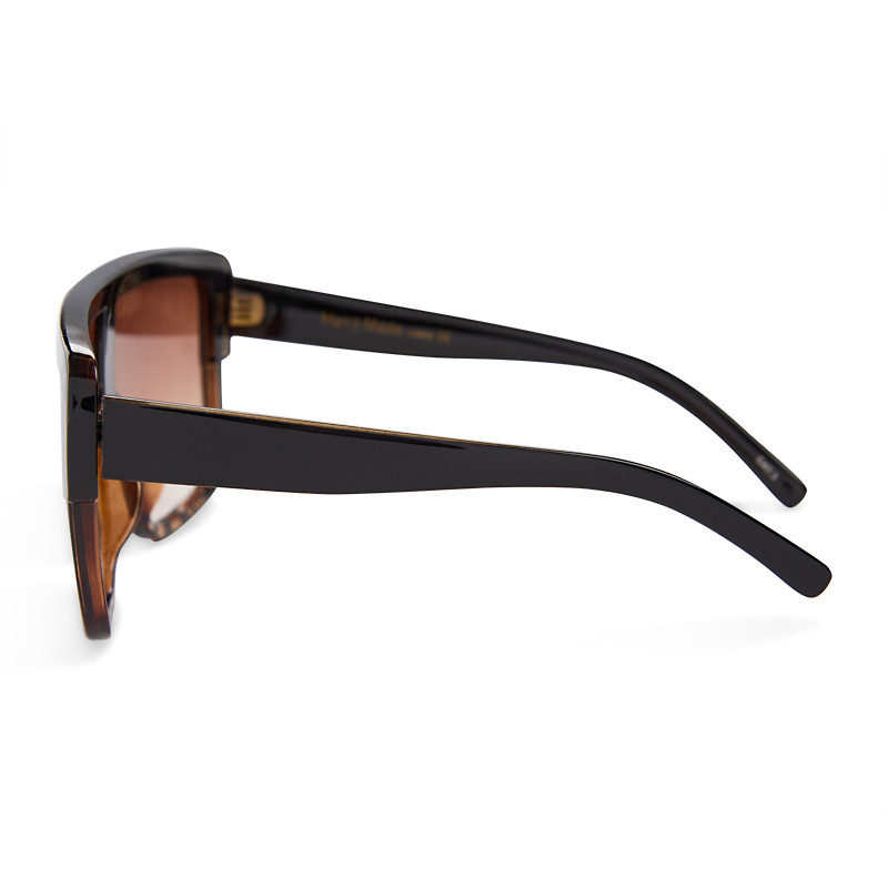 Two Tone Shield Sunglasses -