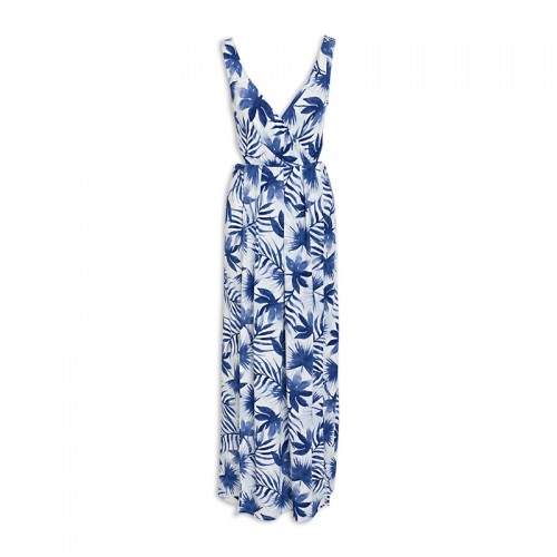 Blue Leaf Dress -