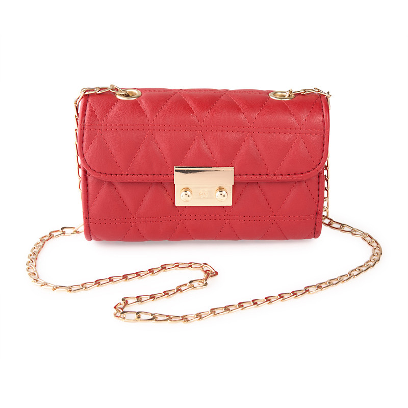 Red Quilted Bag -