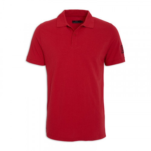 Red Short/Sleeve Golfer -