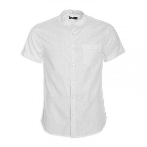 White Short Sleeve Shirt -
