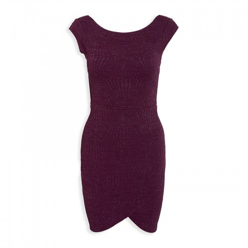 Purple Mini Dress -
