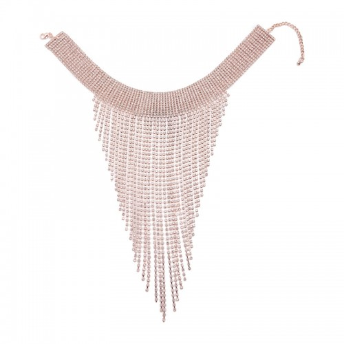 Diamante Bib Layer Choker -