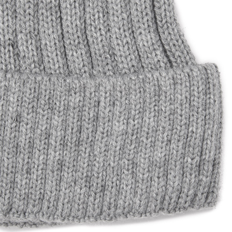 Grey Cable Beanie -