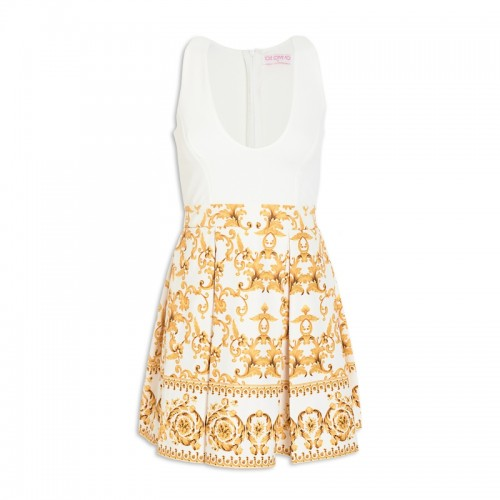 Gold Design Dress -