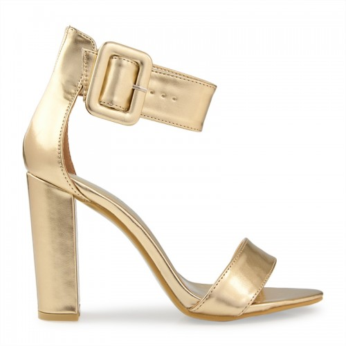 Gold Metallic Sandal -