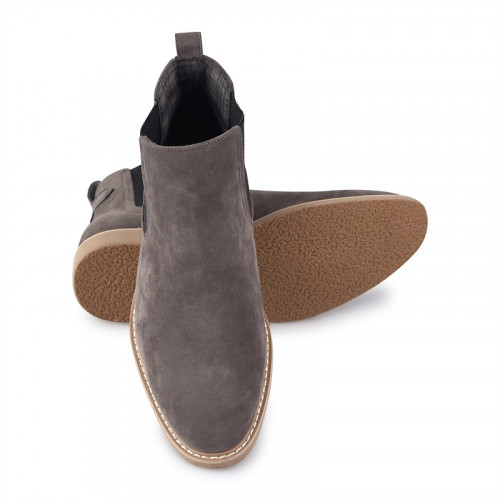 Charcoal Casual Boots -