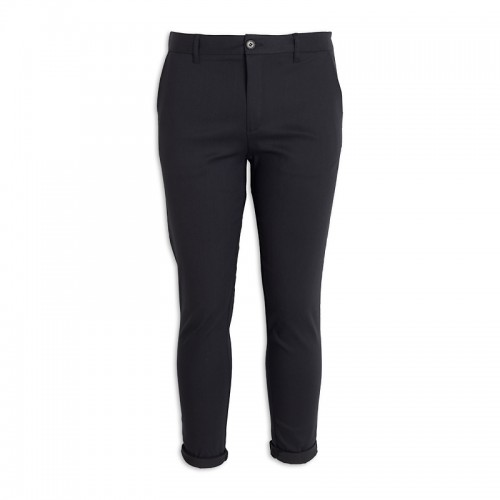 Black Denim Chino -
