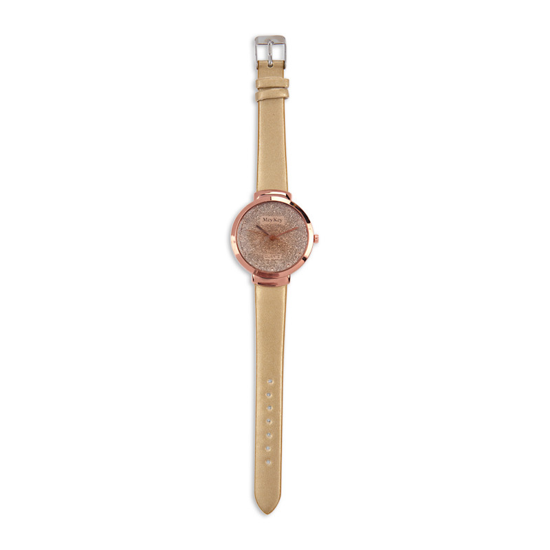 Rose Gold Watch -