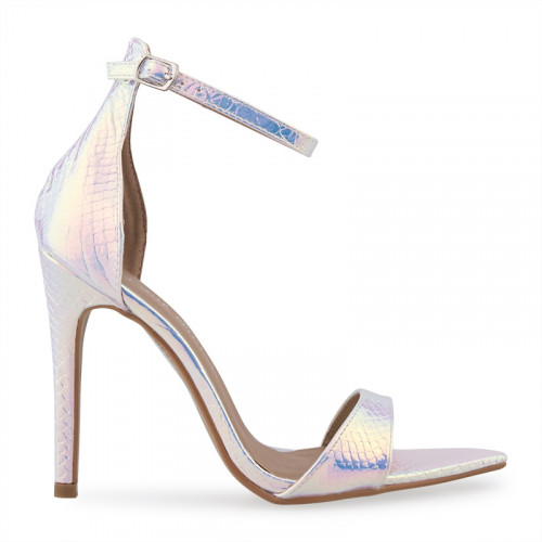 Rainbow Snake Stiletto Sandal -