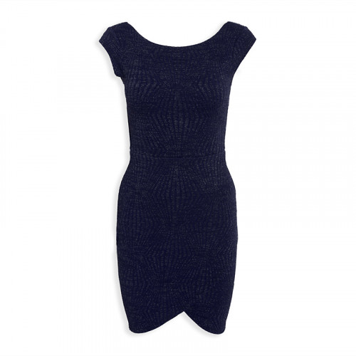 Navy Mini Dress -