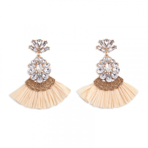 Chandelier Tassel Earrings -