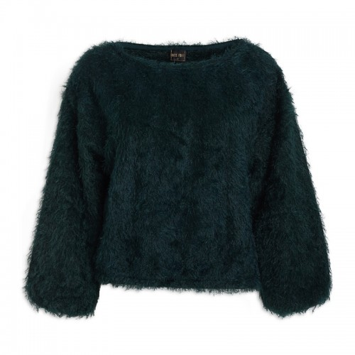 Emerald Fringe Top -