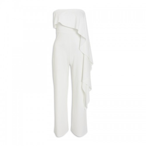 Ivory Frill Jumpsuit -