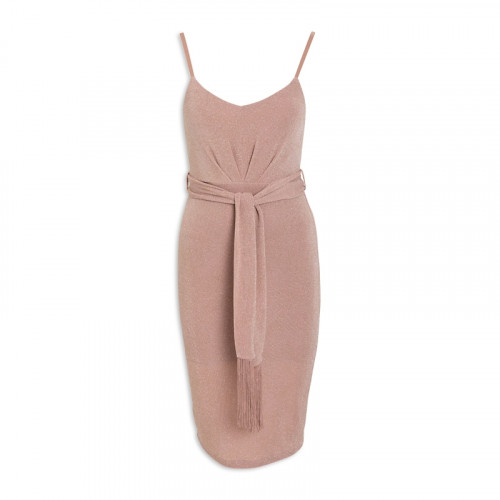 Rose Metallic Dress -