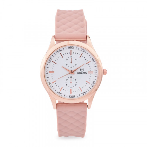 Nude Silicone Watch -