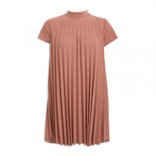 Rose Pleated Dress -