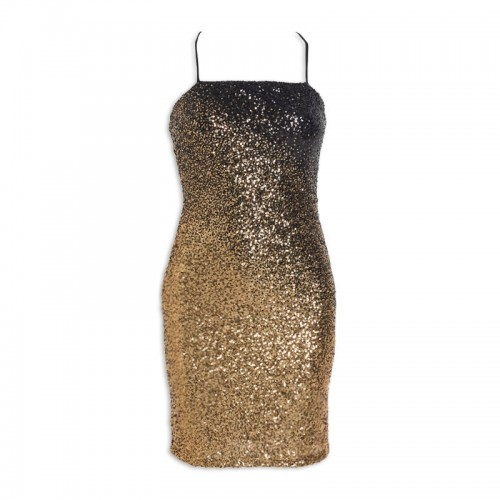 Gold Ombre Dress -