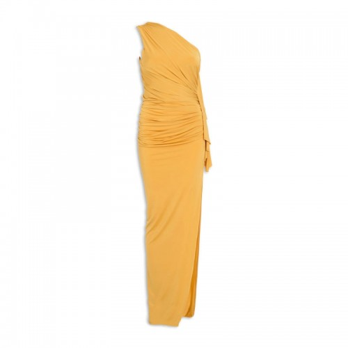 Yellow Flounce Dress -