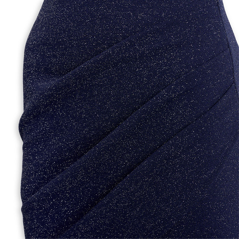 Navy Sparkle Dress -